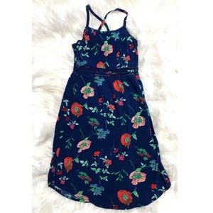 Girls Old Navy floral maxi dress size XS (5)